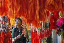 Vrindavan widows celebrate Rakhi