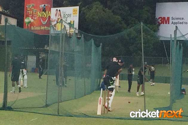 In pics: India warm up at nets ahead of Colombo Test