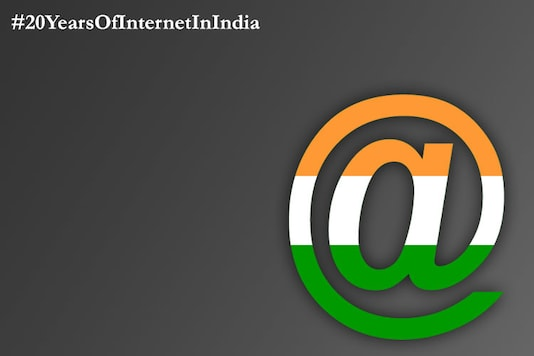 20 years of the Internet in India.