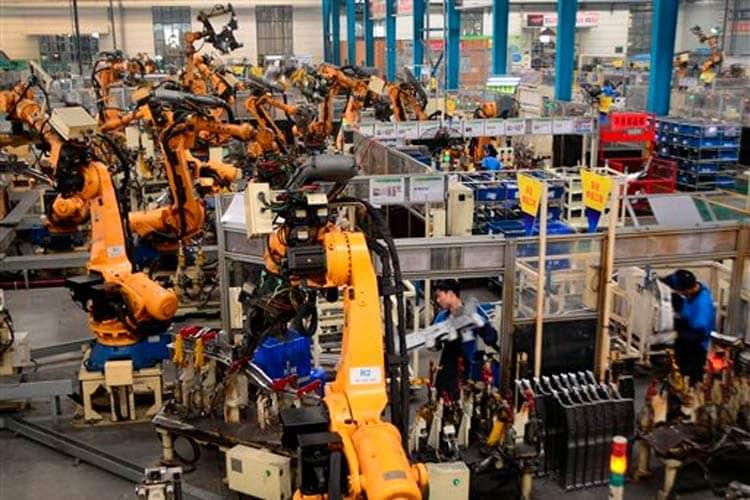 China-factory-robots