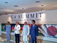 UNSC should include the world's greatest democracies, says PM Modi at G4 meet