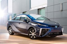 Hydrogen-fuelled Toyota Mirai launched at Frankfurt motor show