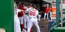 Watch: Baseball players Jonathan Papelbon, Bryce Harper fight in dugout