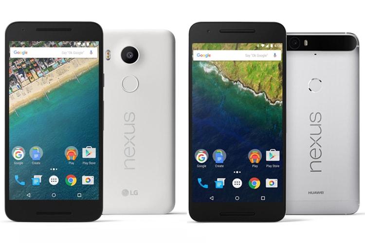 LG Nexus 5X, Huawei Nexus 6P: Google launches new Nexus ...