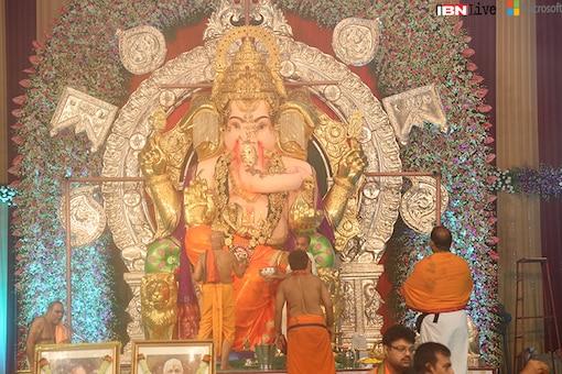 GSB Seva Mandal Ganpati: All about gold and rituals