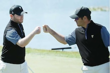 Golf: Internationals claw early point back at Presidents Cup