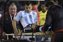 Sergio Aguero to miss Paraguay game with leg injury