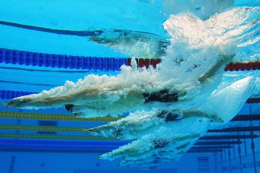 Sajan Kumar on Saturday set a new national record in men's 1500m freestyle competition, clocking a time of 15:41:01