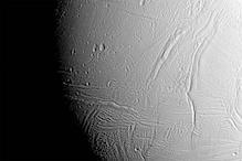 NASA's Cassini captures close up of Saturn's icy moon Enceladus