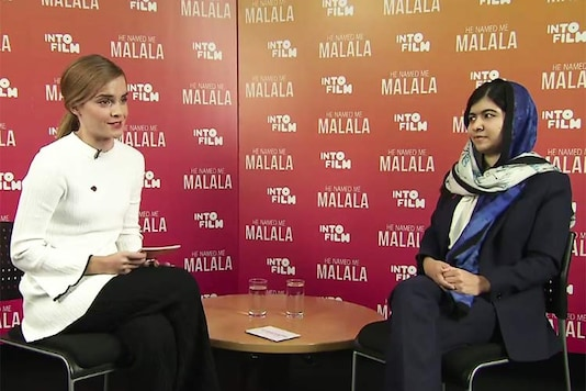 'I am a feminist': Malala Yousafzai speaks to actor Emma Watson about education and gender equality