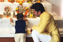 This photo of Riteish Deshmukh and his son Riaan is the cutest thing you will see today