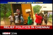 Chennai drowns in relief war