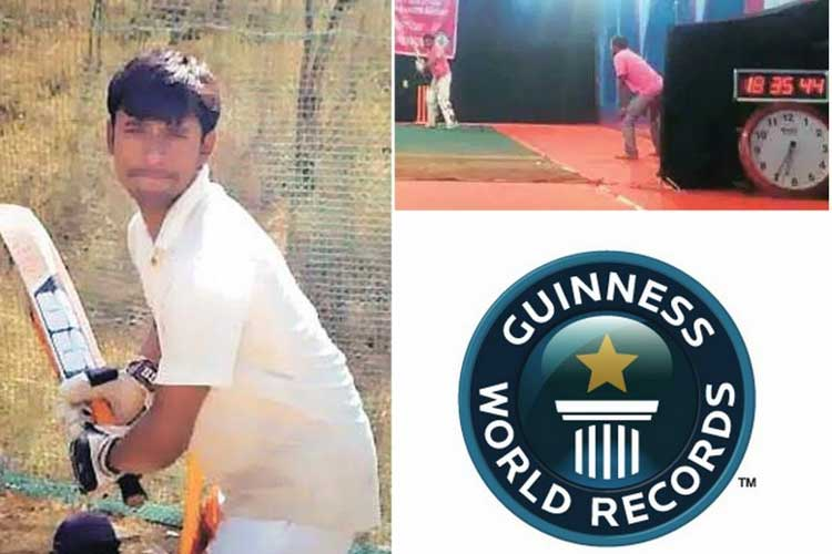 India cricketer Virag Mare creates Guinness world record for ...