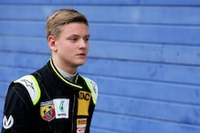 Michael Schumacher's son finishes third on India debut