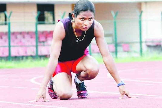 File photo of sprinter Dutee Chand. (Photo Credit: Facebook)
