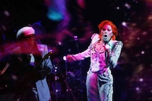Lady Gaga pays tribute to late singer David Bowie at Grammy's