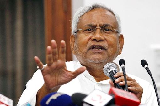 File photo of Bihar Chief Minister Nitish Kumar.