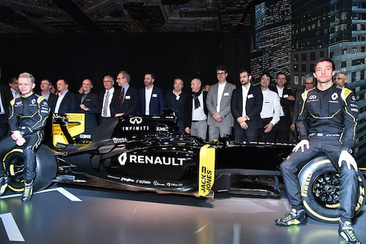 Renault now have their own team, after buying Lotus, but are still providing Red Bull with engines that now carry Tag Heuer branding. (Photo Credit: Getty Images)