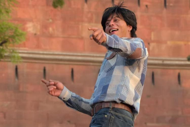 Dance away your worries like SRK