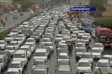 World Culture Festival: Arterial roads witness traffic snarls