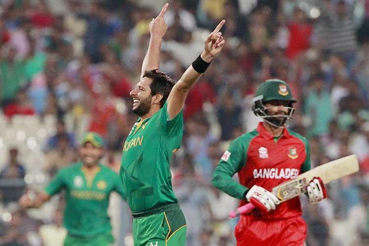 World T20: Shahid Afridi stars in Pakistan's comfortable win over Bangladesh
