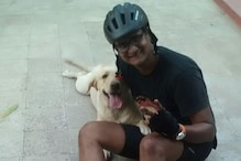 Man travels more than 500 kms on a bicycle to meet his dog