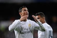 Cristiano Ronaldo on target as Real Madrid crush Sevilla