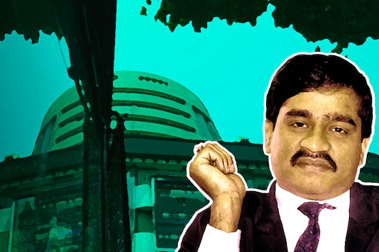 India's most wanted terrorist Dawood Ibrahim.