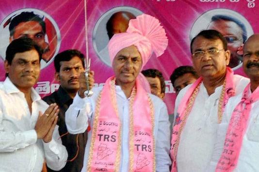 File photo of Telangana CM K Chandrasekhar Rao. (PTI)