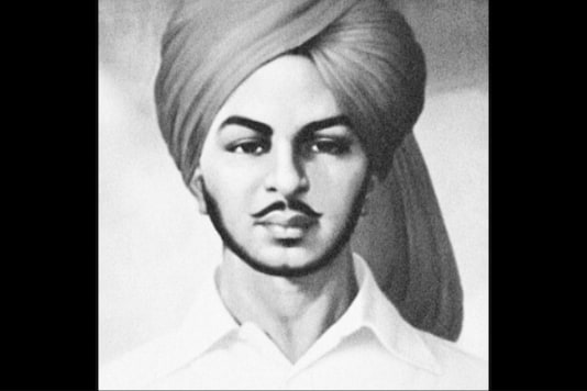 File photo of freedom fighter Bhagat Singh.