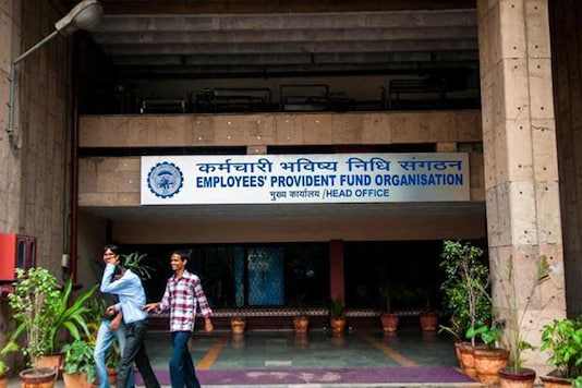 File image of Employees' Provident Fund Organisation office. (Image: PTI)