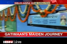 Gatimaan Express completes maiden trip within targeted 100 minutes