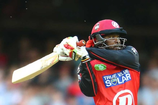 File photo of Chris Gayle batting in the Big Bash League. (Getty Images)
