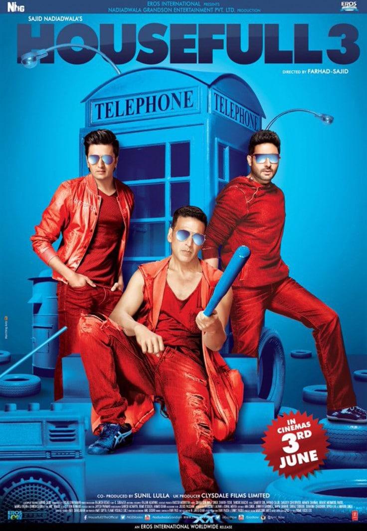 Housefull 3 (2016) Hindi Movie 720p BluRay x264 1.4GB