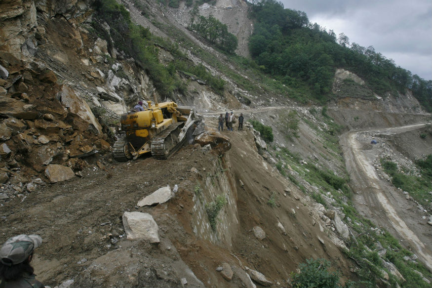 Sikkim: Landslides Damage NHPC Dam, Snap Road Links to District Bordering China