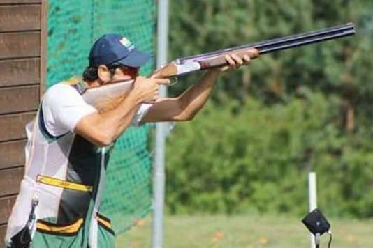 File image of Indian shooter Mairaj Ahmed Khan.