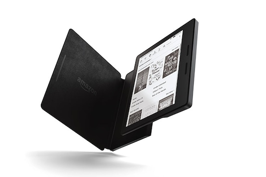 Kindle Oasis: Oasis is 30 per cent thinner on average and over 20 per cent lighter than any other Kindle. The device comes with dual-battery charging system -- one in the e-reader and another in its cover -- which lets one read for months without charging the device again. Price: Rs 23,999