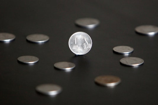 File photo of Indian rupee.(Reuters)