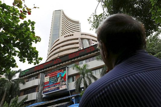 File photo of the Bombay Stock Exchange.