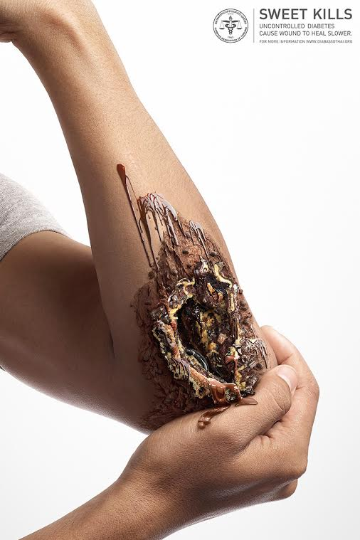 World Health Day This Artist Uses Dessert Items To Tell You What