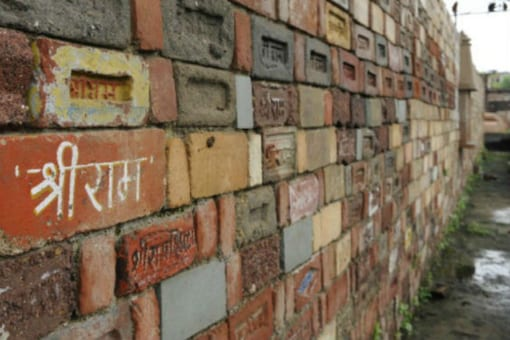 File photo of controversial Ayodhya temple site in Uttar Pradesh.