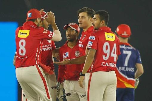 Kings XI Punjab and Delhi Daredevils. (BCCI Photo)