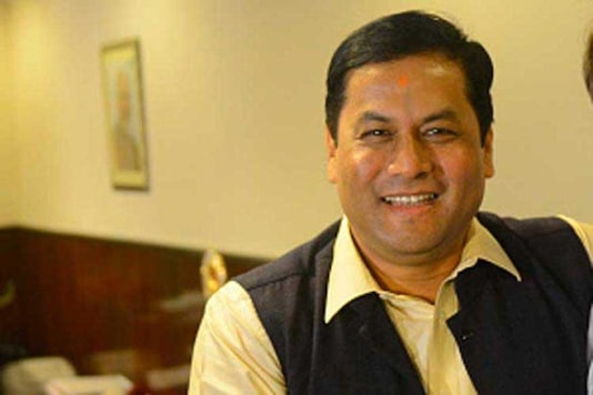 A file photo Assam CM Sarbananda Sonowal. (Getty Images)