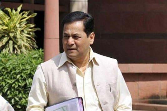 File photo of Assam CM Sarbananda Sonowal.