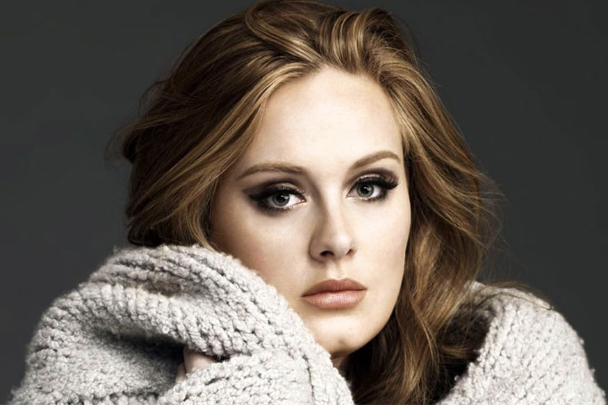 Adele Takes a Shot at Her Fitness For Film Role