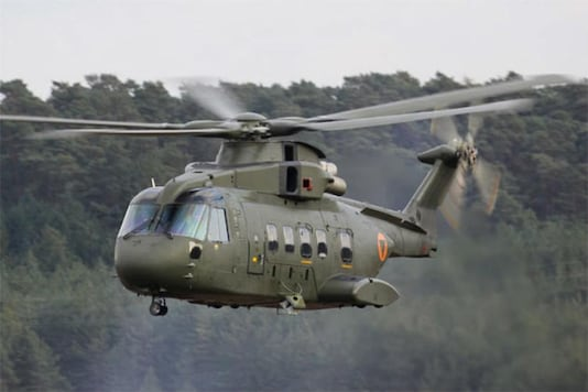 File photo of AgustaWestland chopper.