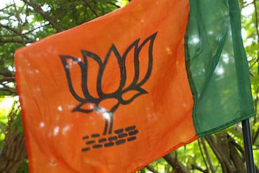 File photo of BJP flag.