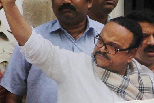 File photo of former Maharashtra Deputy Chief Minister Chhagan Bhujbal. (PTI)