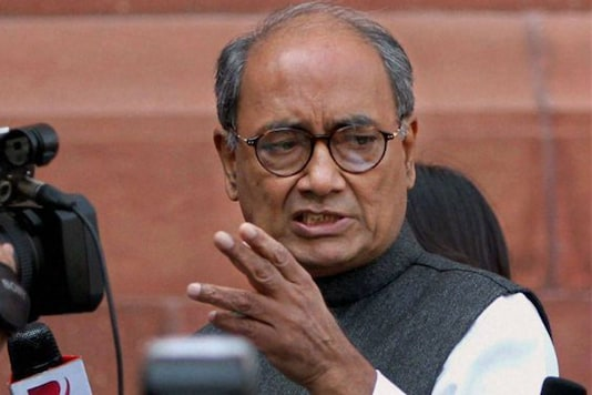 File photo of Congress leader Digvijaya Singh. (PTI)