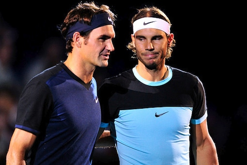 File image of Roger Federer (left) and Rafael Nadal (right). (Getty Images)